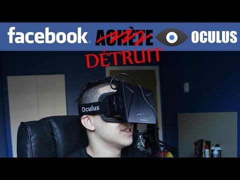 Facebook a̶c̶h̶è̶t̶e̶ détruit l'Oculus