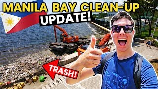 European Reacts to MANILA BAY CLEAN-UP UPDATE!