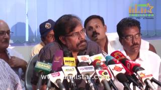 R K Selvamani Press Meet Regards Rajinikanth Met