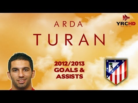 Arda TURAN - Goals, Skills, Assists - Atletico Madrid - 2012/2013 - HD