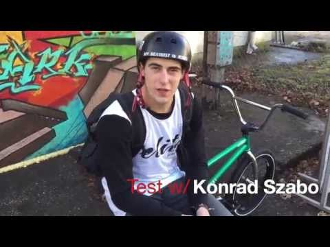 Total BMX Mark Webb Replica 2015 Test w/ Konrad Szabo