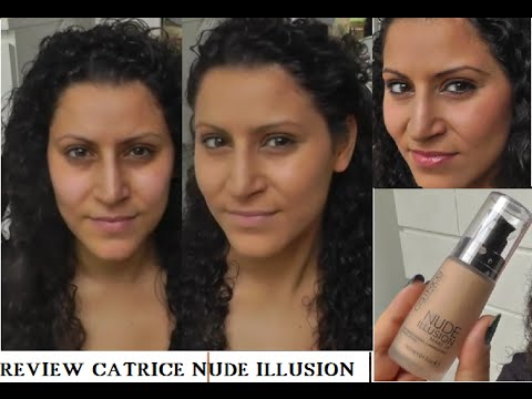 Getestet ! Catrice NUDE ILLUSION Make up  Review