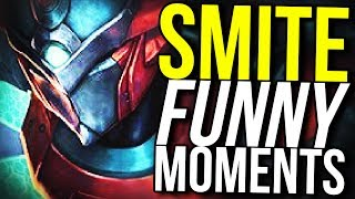 THE PENTA PENTAKILL!! (Smite Funny Moments)