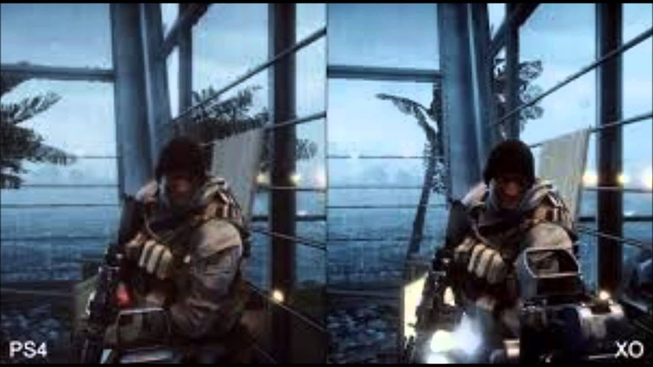 Xbox One Vs Ps4 Graphics Side By Side XBOX ONE REVIEW : XBOX...