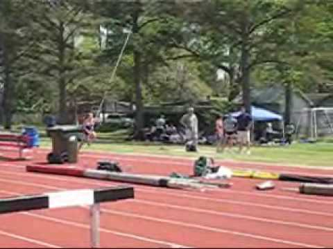 University of Louisiana at Lafayette Outdoor Track and Field Meet Video