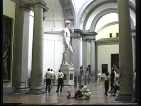 Florence Accademia Gallery Youtube