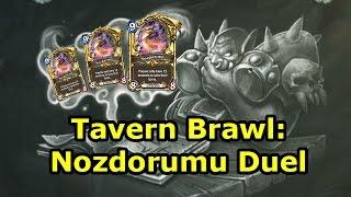 Hearthstone Tavern Brawl: Nozdorumu Duel (Spellbook Duel)