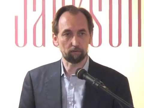 8th IHLD: H.R.H. Prince Zeid (2014): Wins Heintz Award