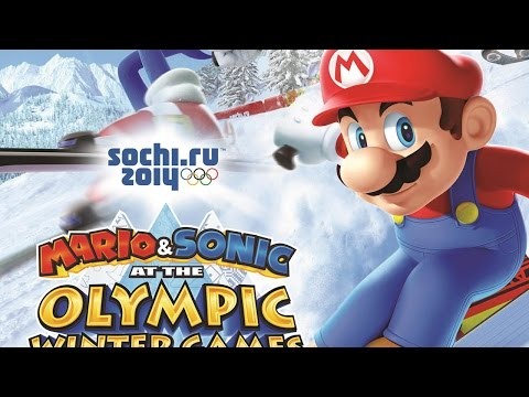CGR Undertow - MARIO & SONIC AT THE SOCHI 2014 OLYMPIC WINTER GAMES review for Nintendo Wii U