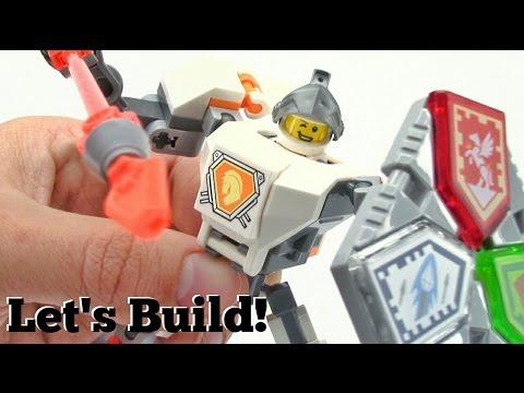 LEGO NEXO KNIGHTS: Battle Suit Lance 70366 - Let's Build!