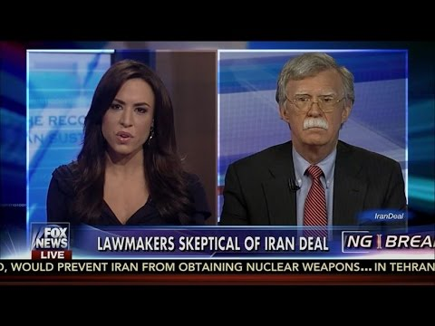 John Bolton Answers The Million Dollar Question ➠ Can Iran Still Build A Bomb Under This Deal?