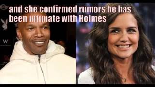 Jamie Foxx and Katie Holmes are totally dating! Or not