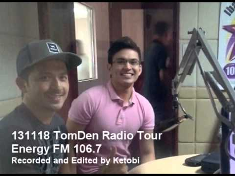 131118 Energy FM 106.7  [Audio] - (TomDen) Radio Tour