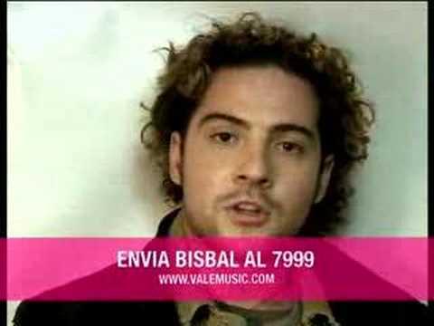 David Bisbal - David Bisbal Soldado De Papel Making of