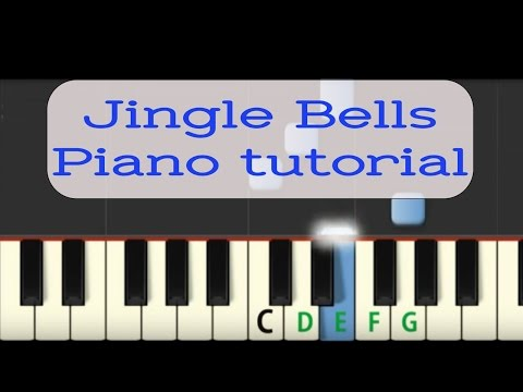 how to play jingle bells on piano very easy