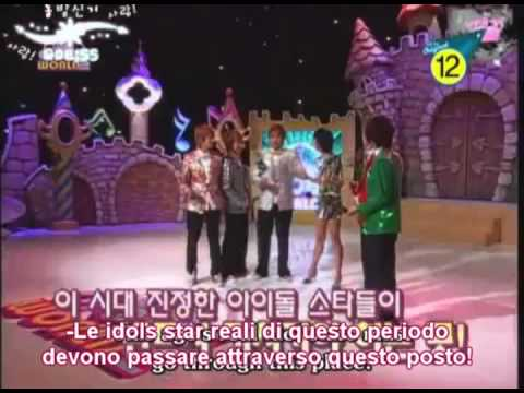 Super Junior Idol World ep 1 ( 1/5) Sub Ita