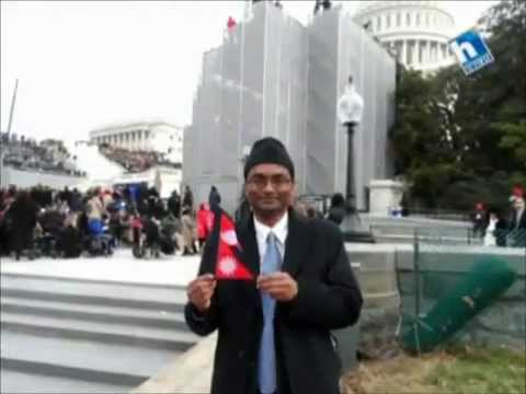 Santosh Shah attends U.S. Presidential Inauguration 2013