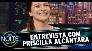 The Noite (29/07/14) - Entrevista com Priscilla Alcântara