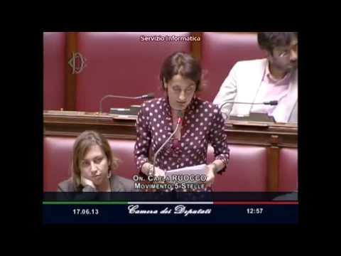 Intervento di Carla Ruocco sul debito pubblico