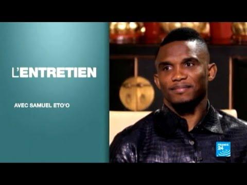 Samuel Eto'o en interview exclusive sur FRANCE 24