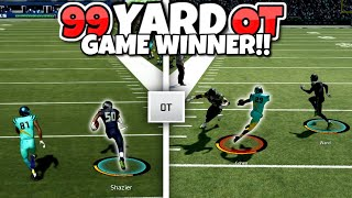 Guess Who got the 99 Yard Overtime Winner.. - WILD GAME!! Pack A Punch #7