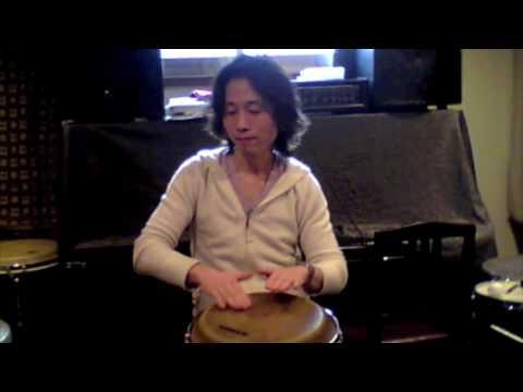 コンガ基本奏法(オープン、クローズ) :: VideoLike