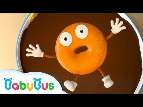 초콜릿에 퐁당!|춤을 추는 도너츠~|무지개사탕동요|아이스크림|베이비버스 인기동요 모음|BabyBus