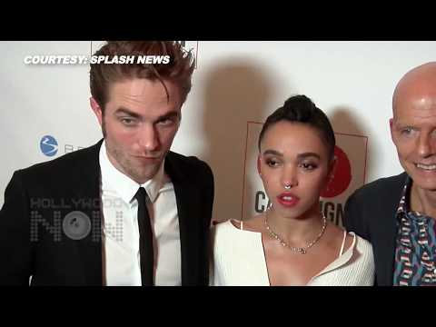 (VIDEO) Robert Pattinson & FKA Twigs PDA On Red Carpet