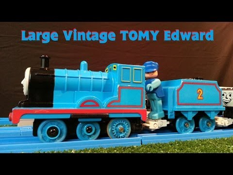Large size early 90's TOMY vintage Edward has a run.