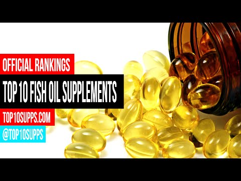 Top 10 Fish Oil Supplements for 2016