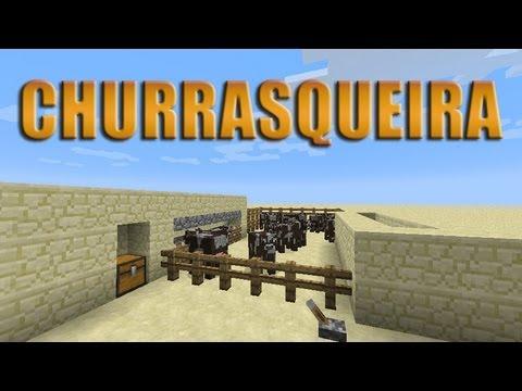 Matadouro Churrasqueira automática para survival Minecraft Tutorial 52