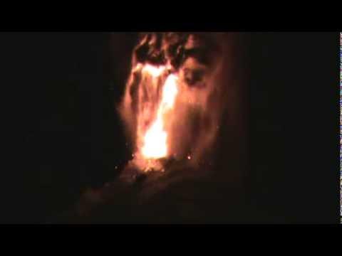 Erupci�n del volc�n Villarrica // 03-03-2015