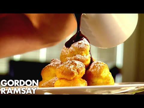 Perfect Chocolate Profiteroles - Gordon Ramsay