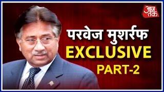 Pervez Musharraf Exclusive On Aaj Tak Over Kulbhushan Jadhav's Case Part II