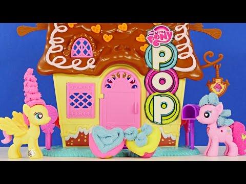 Play Doh My Little Pony Pinkie Pie Sweet Shoppe Mix N Match Pinkieshy Flutterpie Mlp Playdough video