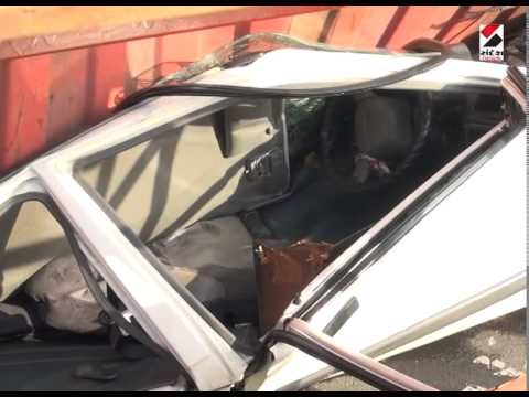 Ahmedabad : Accident on S.G. Highway Road