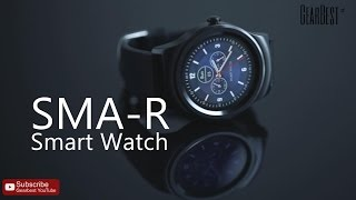 SMA-R Dual Bluetooth Smart Watch - Gearbest.com