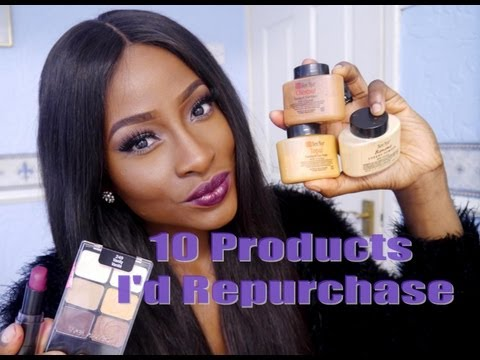 10 Products I Would Repurchase TAG