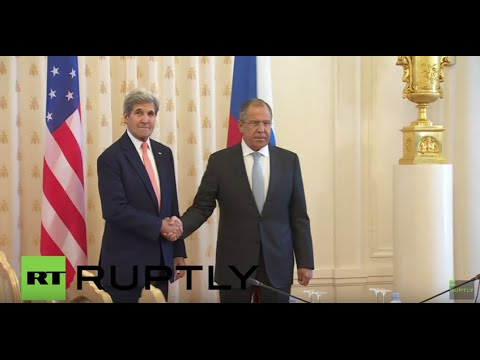 Russia: Lavrov and Kerry honour Nice attack victims with a moment of silence