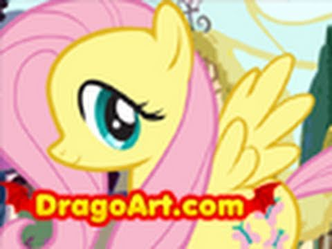 How to Draw Fluttershy. Fluttershy. My Little Pony