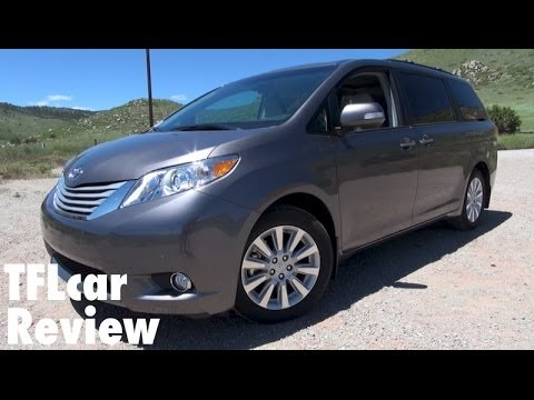 2014 Toyota Sienna Minivan 0-60 MPH Review: Is it really fast & fun?
