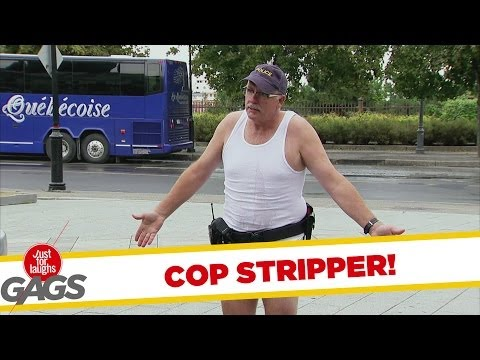Most Stripping Cop Prank
