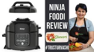 Ninja Foodi Review Pressure Cooker Air Fryer Combination | Chicken Rice Recipe