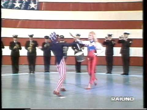 Heather Parisi Stars and stripes