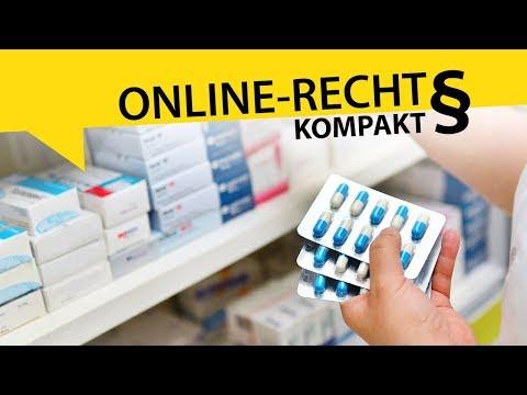 Können Medikamente pauschal vom Widerrufsrecht ausgenommen werden?