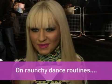 Christina Aguilera on still having raunchy dance routines