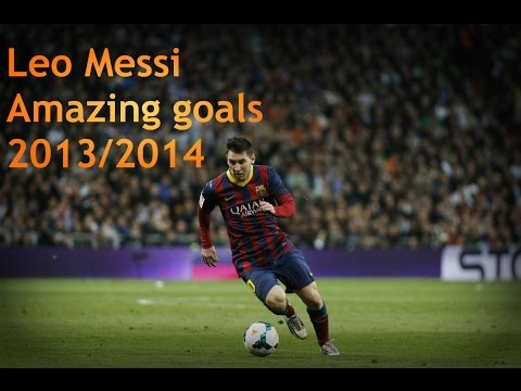 Lionel Messi - Amazing Goals 2013/2014 HD