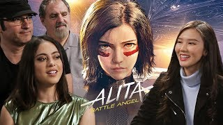 She gave Rosa Salazar a WHAT?! - Alita: Battle Angel