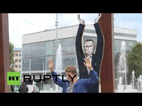 Памятник Путину в Женеве , Monument to Putin in Geneva