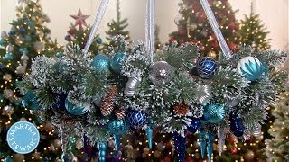 LEARN & DO: Wreath Chandelier - Martha Stewart